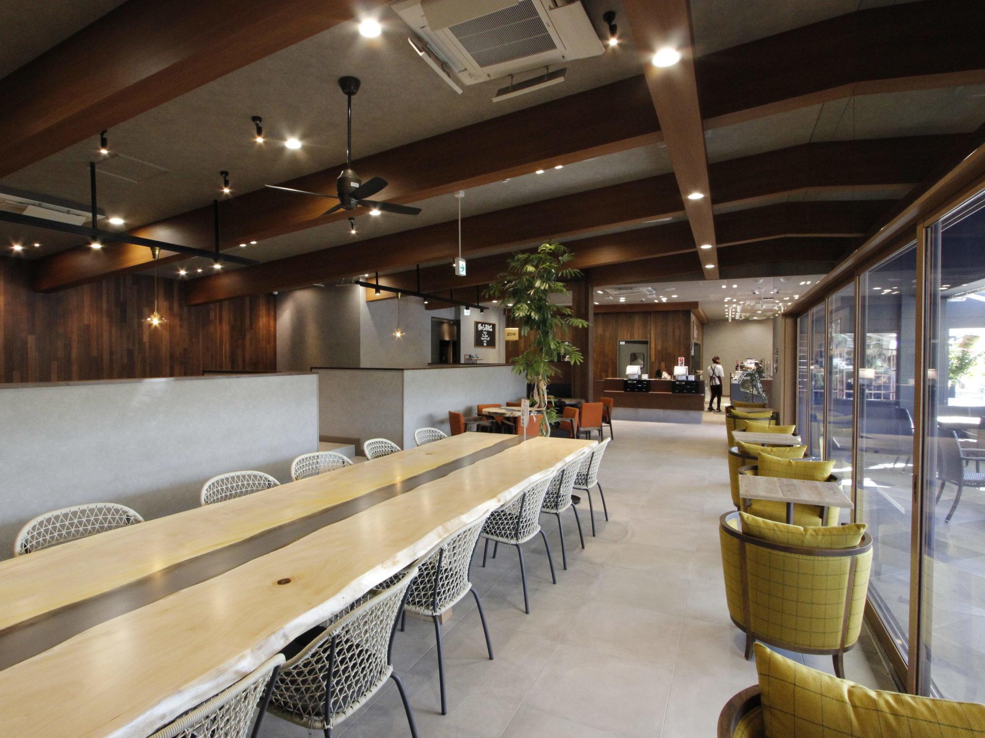 ダカフェ若松店様 施工事例をアップしました。